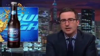 Bud Light and Its Terrible Tagline Get the John Oliver Treatment