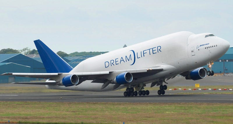 Replacement Dreamlifter crew