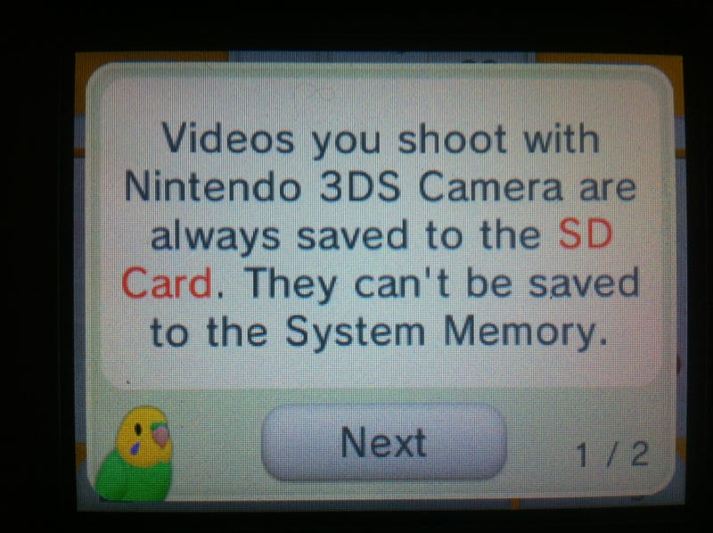 Record 3D Movies on Your 3DS Starting Now
