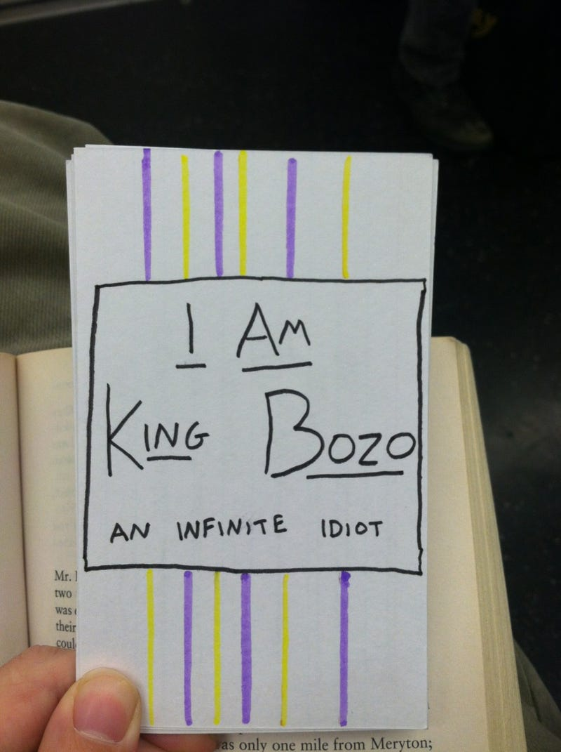 Have You Seen King Bozo?