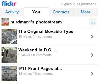 Flickr Launches iPhone-Friendly Mobile Version