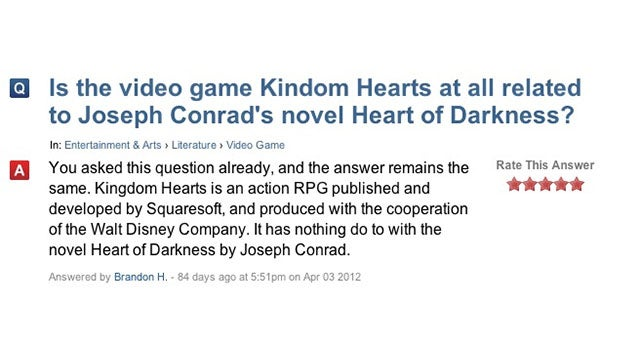 No Dude, Kingdom Hearts Isn't Based on Heart of Darkness