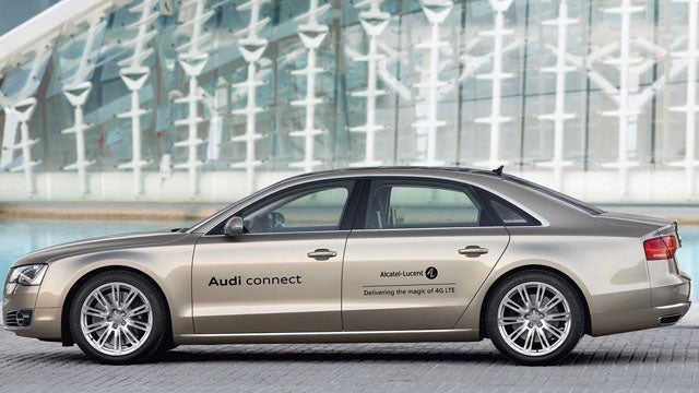 Audi plots wireless 4G broadband for its cars