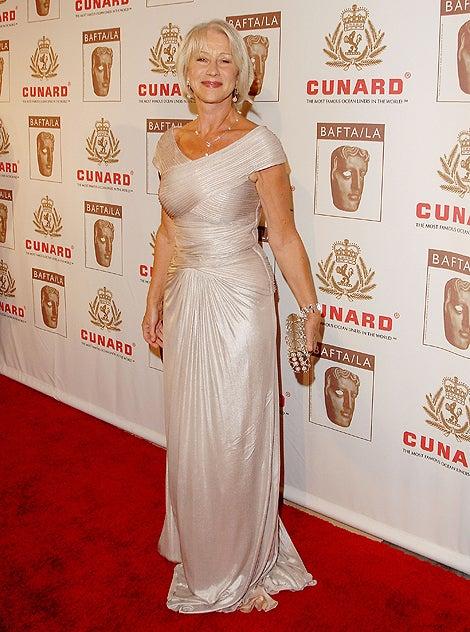Helen Mirren Shimmers & Shines