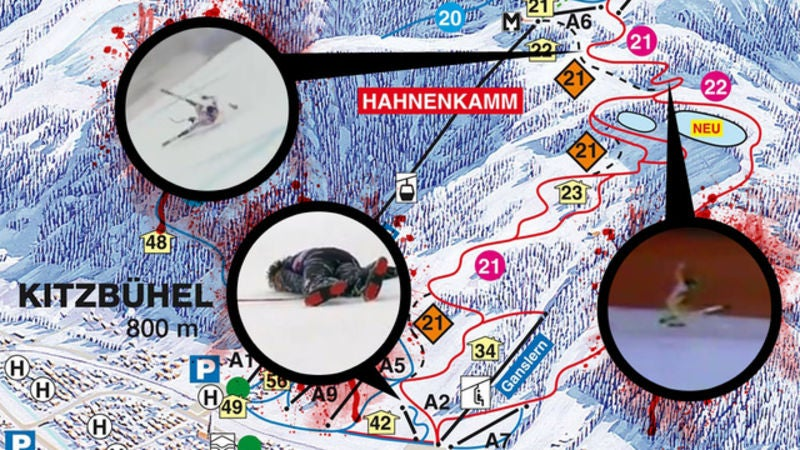 """A Tour Of The Terrifying Downhill Ski Course That Will Rip Open Your Pelvis """"Like A Book"""""""