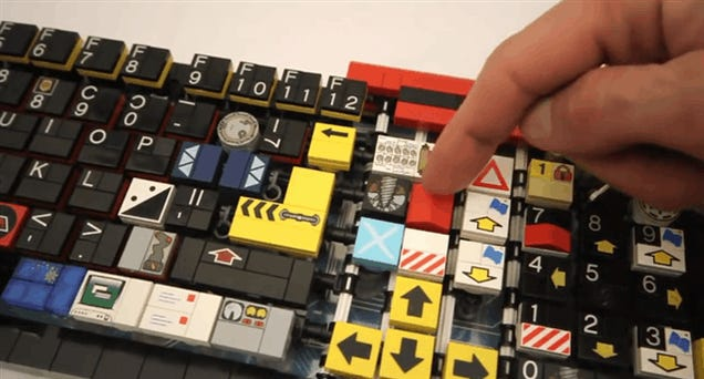 LEGO Keyboard Actually Works As Real Keyboard