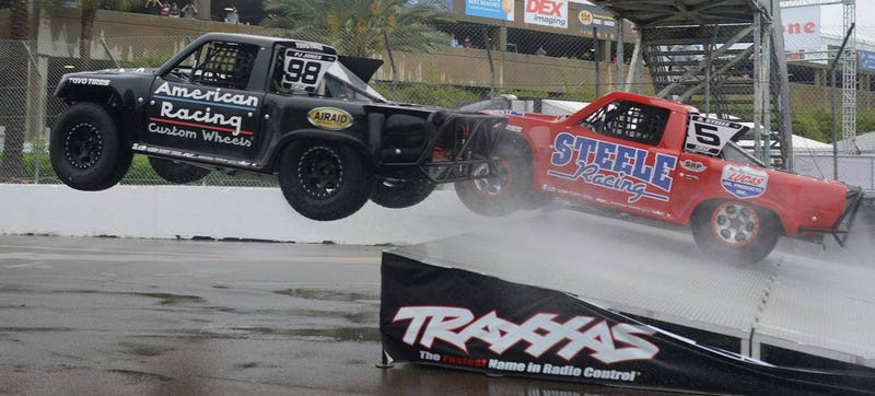 Take It Seriously Or Not: 'Stadium Super Trucks' Is Getting Attention