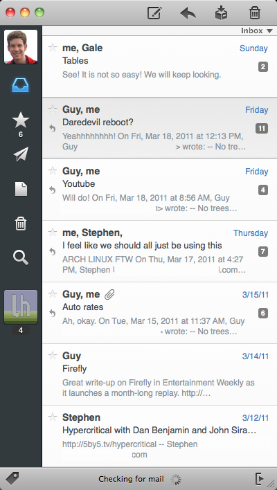 Sparrow Adds Priority Inbox, IMAP Support to Its Minimalist Email Client