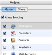 Sync your Mac with MySync