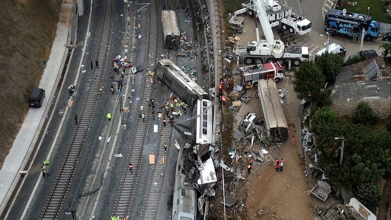 Horrific Rail Crash in Spain Kills 78, Injures Scores More