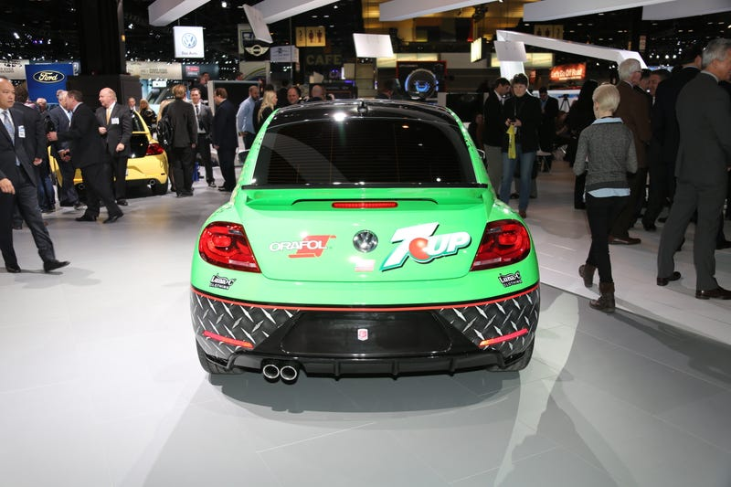 The 7up Rallycross Volkswagen Beetle Is Even Better