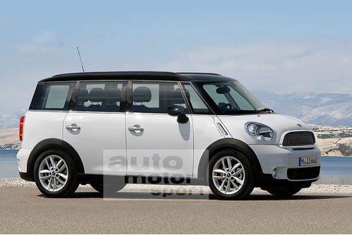 A Mini Minivan?!