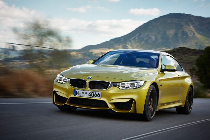 The All-New BMW M3 Sedan And BMW M4 Coupe
