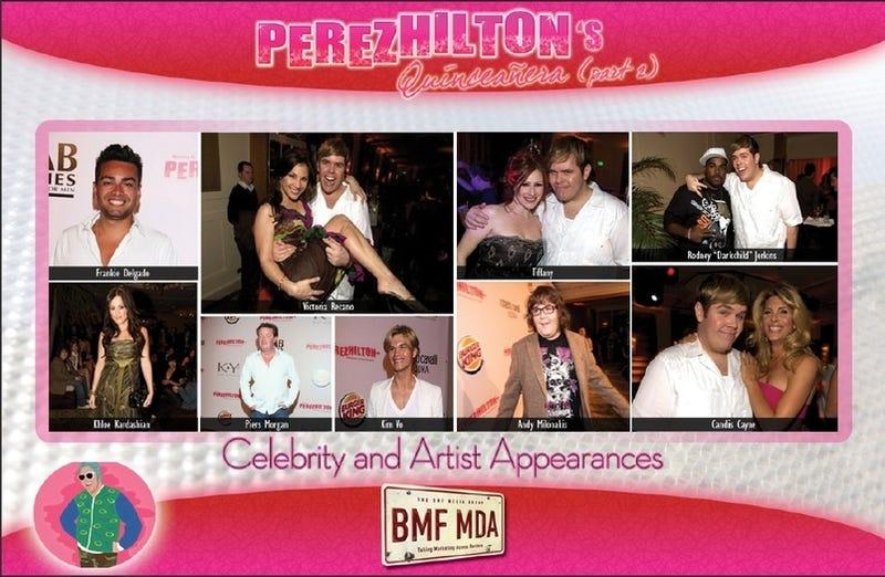 Perez Hilton's Birthday Party: The Sponsorship Pitch