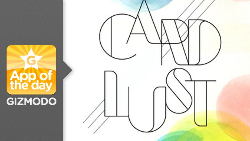 Card Lust: A Beautiful Excuse to Send Digital Notes