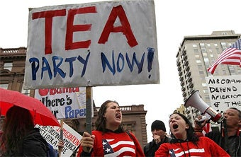 Tea Party Defies Judge's Ruling Against 'I.D. Me' Buttons