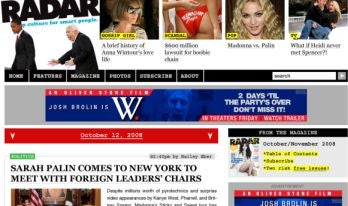 RadarOnline Redesign Would Have Been Just Like Us