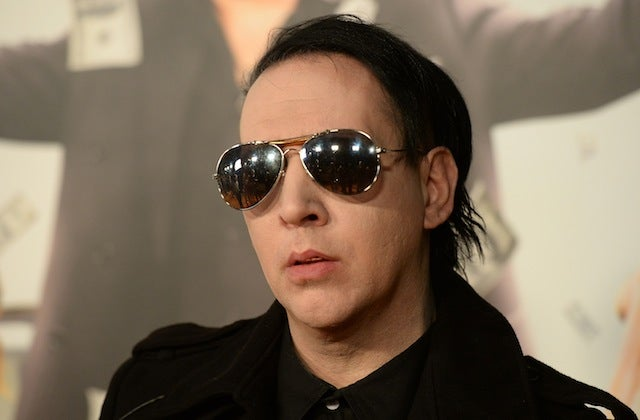 Marilyn Manson is loaning his creepy voice to Once Upon a Time