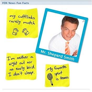 Fox Newsers' Disturbing Internet Overshares