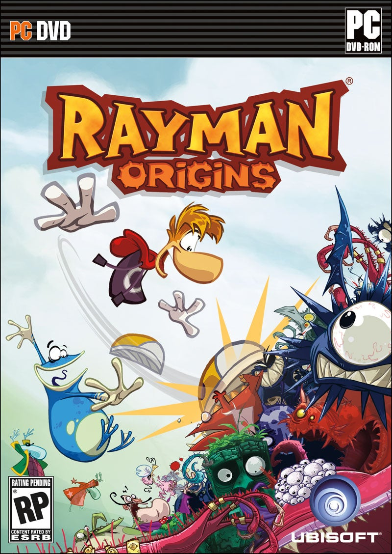 Rayman Origins Marches to the PC