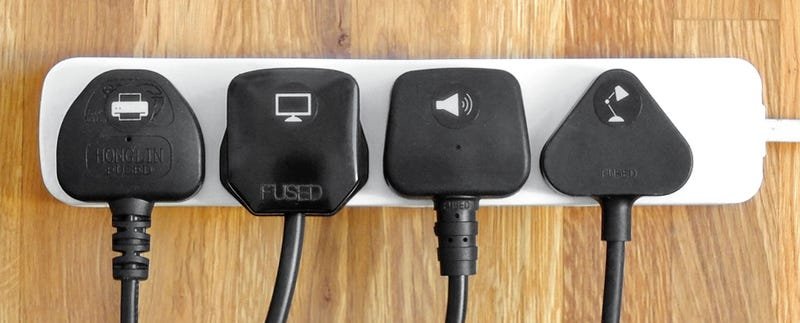 Simple Stickers Help You Figure Out Where All Your Gadgets Are Plugged In