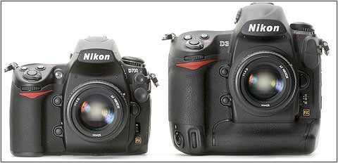 Differences Between Nikon D3 and D700 (aka Lil' D3)