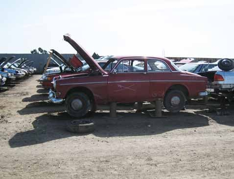 Another Volvo Amazon Set To Become Scrap Steel
