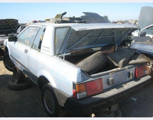 1984 Nissan Pulsar NX Down On The Junkyard