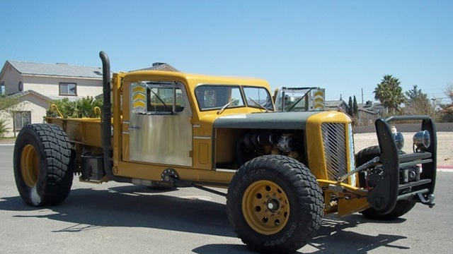 Huge Diesel Powered Hot Rod Is Ready For The Apocalypse