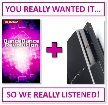 Dance Dance Revolution Coming To PS3