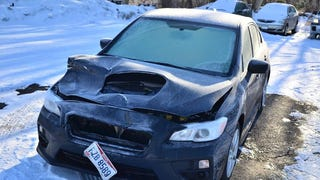 Subaru dealer wrecks customer's new WRX,