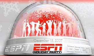 Make Your Case To Attend The ESPN Holiday Party