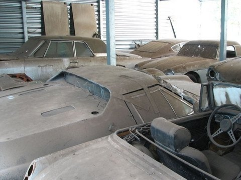 California Barn Find: 50 Vintage Cars, All Up For Sale!
