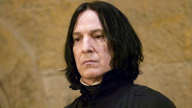 """Even Snape from Harry Potter Can Be """"Cute"""""""