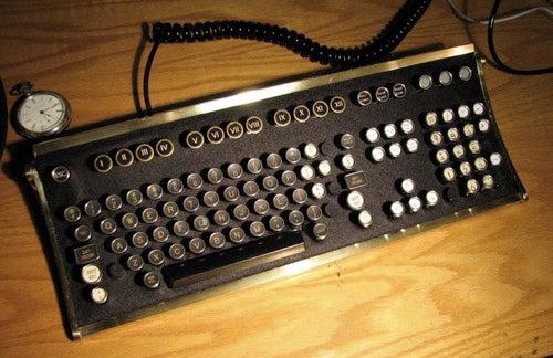 Steampunk Keyboard Mod for Brazil Re-enactments