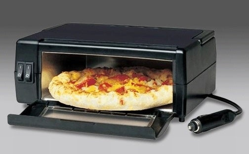 12V Plug-Powered In-Car Pizza Oven Promises Traveling Pie Bliss