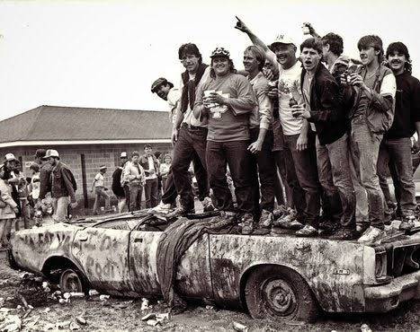 Missing: The real Indy-500 Snake-Pit.