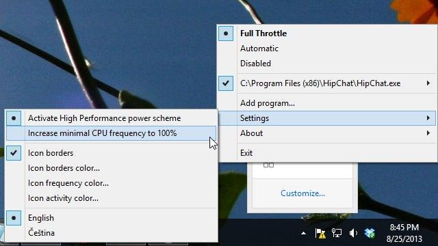 Full Throttle Cranks Up Your Laptop's Performance For Certain Apps