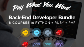 Pay What You Want for the Back-End Developer Bootcamp