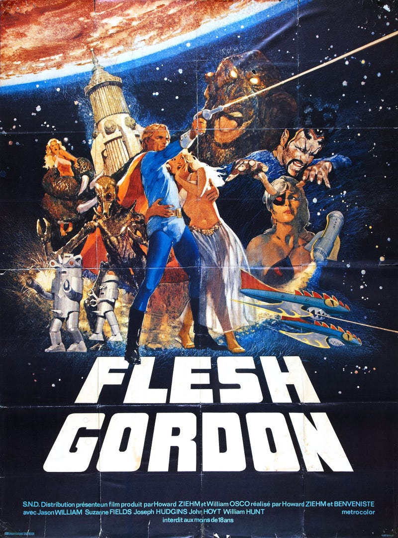 Flesh Gordon Stuff!