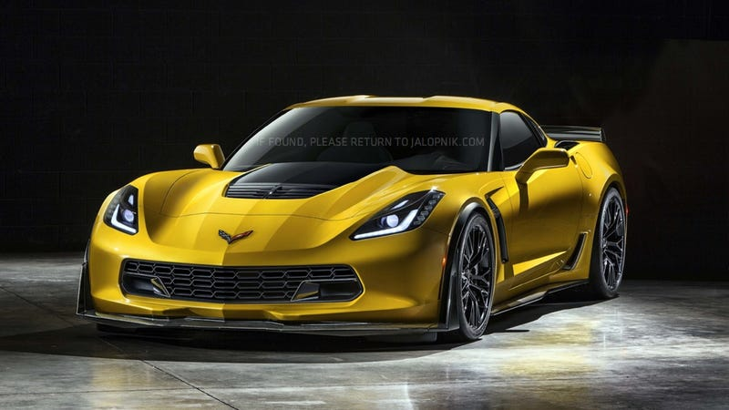 2015 Chevrolet Corvette C7 Z06: Just a slight leak.