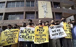 Terrorists Ambush Sri Lankan Cricket Team