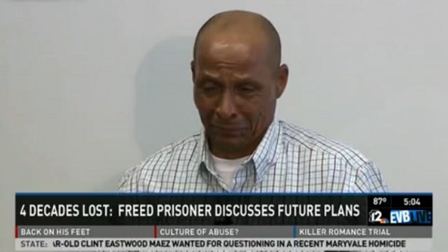 Man Who Spent Over Four Decades in Prison on Bogus Conviction Does Exactly What You Would Do With His First Day of Freedom