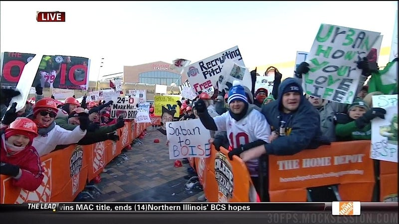 """Mark May, Suck On These Nuts"": Your OSU-MSU GameDay Sign Roundup"