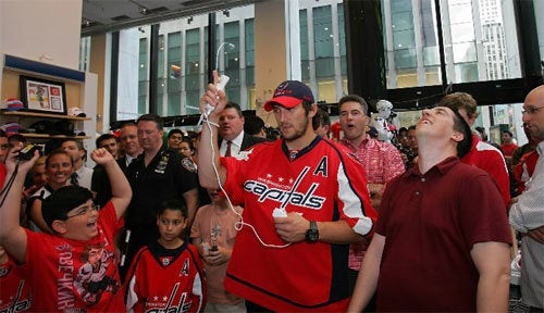 Alexander Ovechkin Takes His Wii Very Seriously