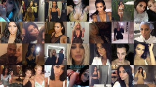 The Kim Kardashian Selfie Awards For Kim Kardashian Selfies