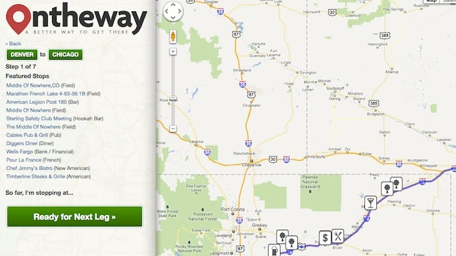 OnTheWay Shows Roadside Attractions, Restaurants, and More to Help You Better Plan Your Road Trip