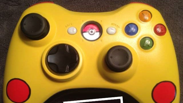 Pokémon Xbox 360 Controller Signals The Coming Of The Apocalypse