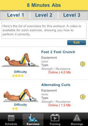 Turn Your iPhone or iPad into a Personal Trainer