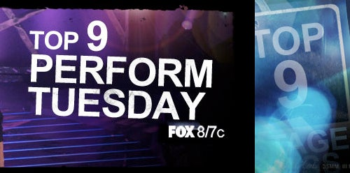 LIVE: American Idol, Season Nine, Top 9 Perform (Again)